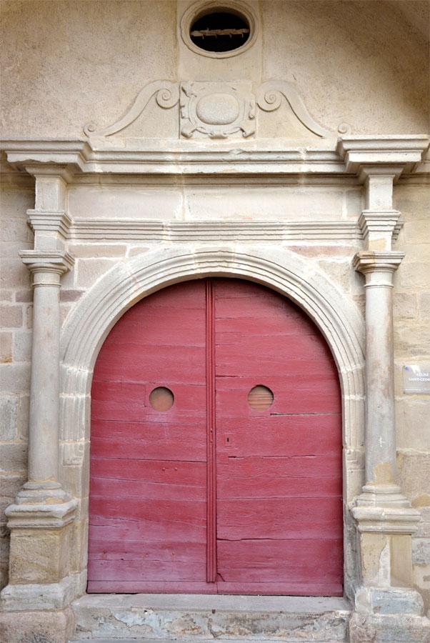 Eglise Saint Georges, portail
