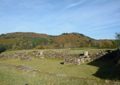 Fondations du prieuré