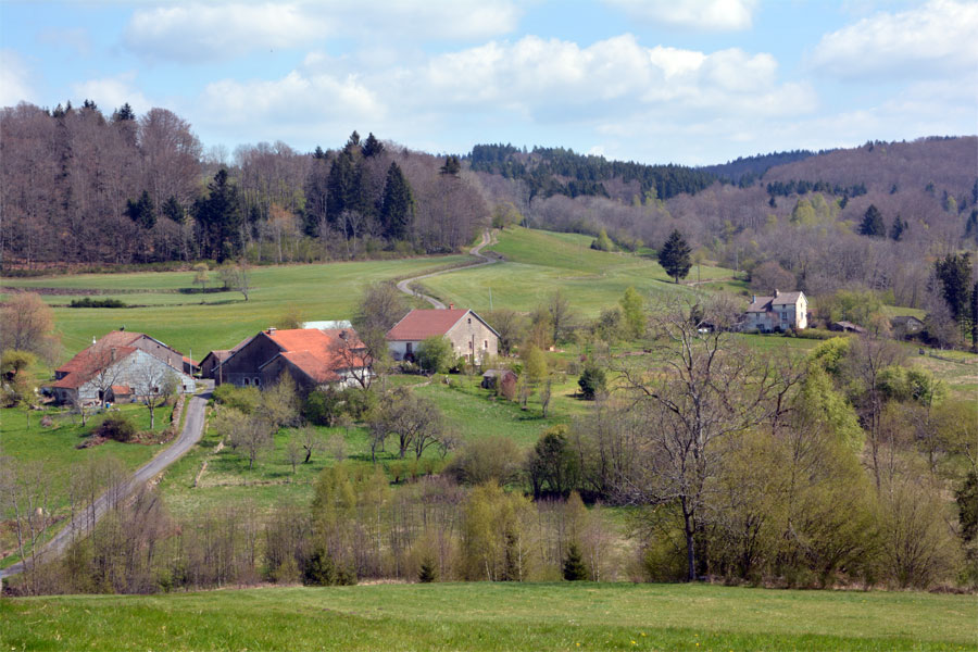 Breuche, le hameau
