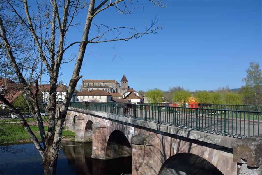 Le pont sur l'Ognon