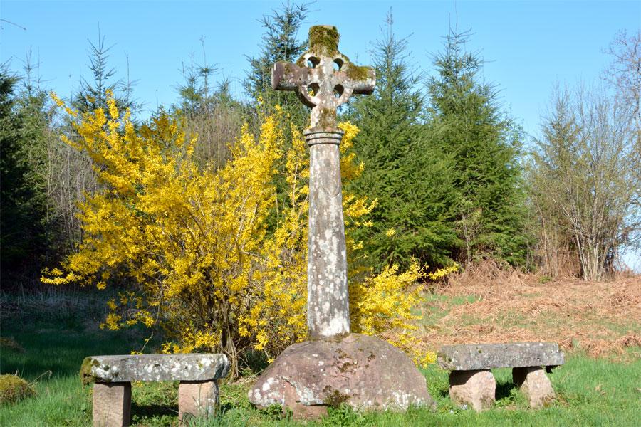 Croix près de La Marceline