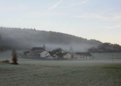 Beulotte dans la brume