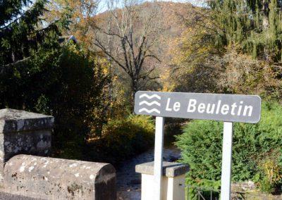 Le Beuletin à Saphoz aval