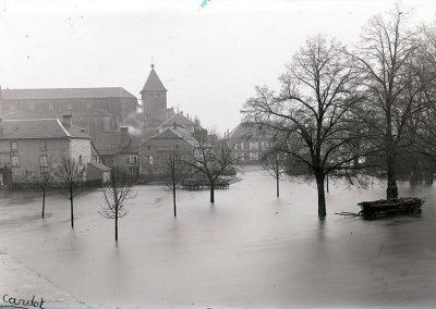 Innondations à Mélisey