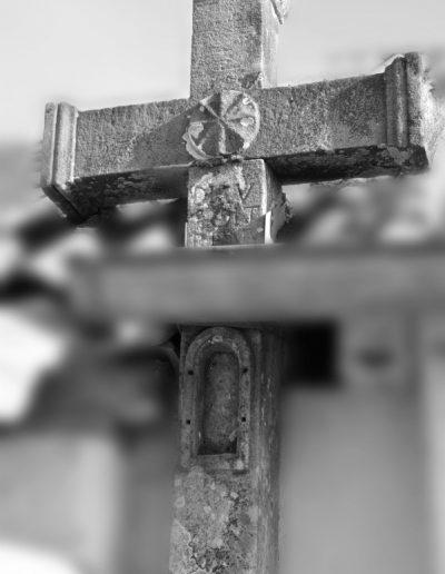Croix dans le toit